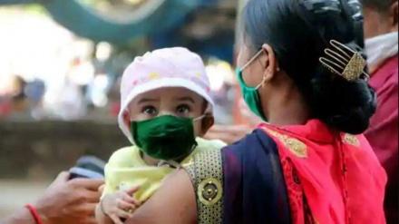 ہندوستان میں کورونا کا پھر ریکارڈ ٹوٹا