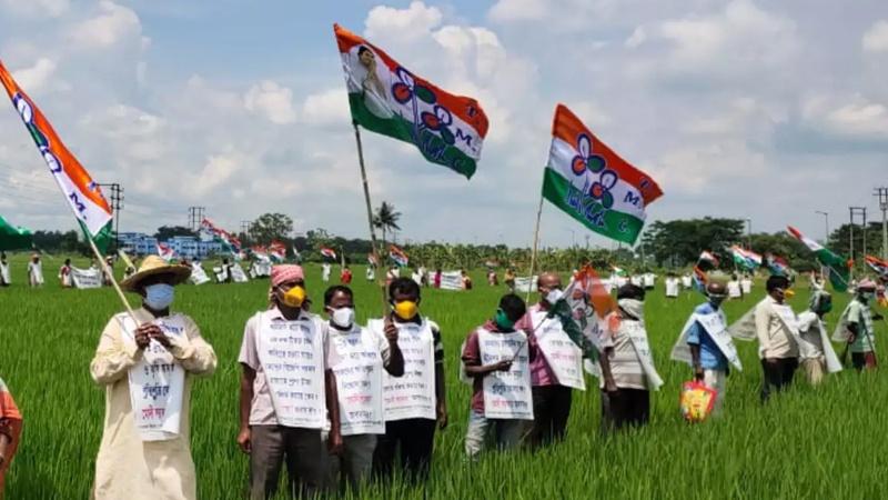 ہندوستان میں زراعت ترمیمی بل کے خلاف کسانوں کے احتجاج میں تیزی