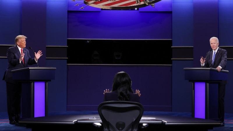 امریکہ، آخری انتخابی مباحثہ میں دونوں حریفوں نے ایک دوسرے کی خوب دھجیاں اڑائیں