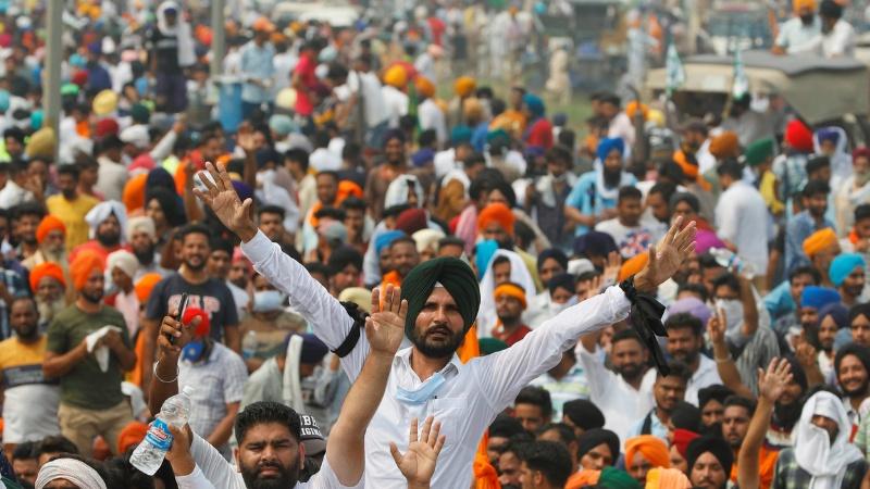 ہندوستان میں کسانوں کے دھرنے اور مظاہرے