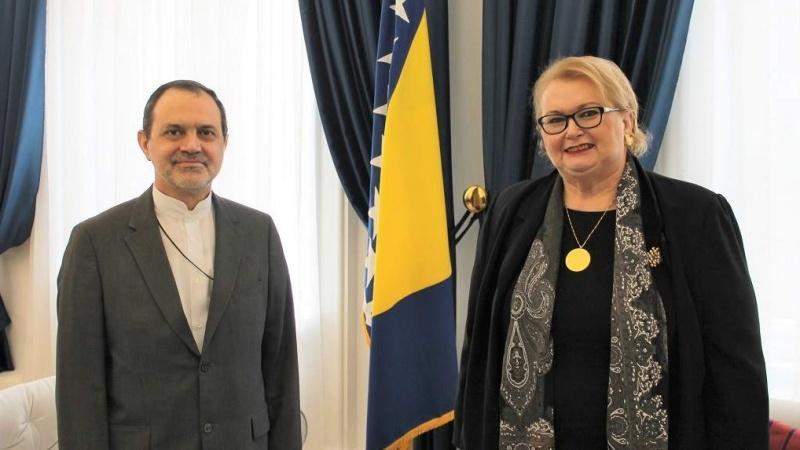 """Turković i ambasador Irana o odnosima """"prijateljskih zemalja i unapređenju saradnje"""""""