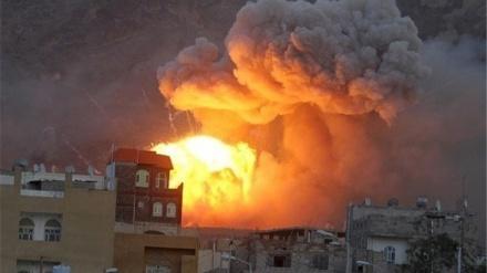 یمن پر سعودی اتحاد کی جارحیت جاری