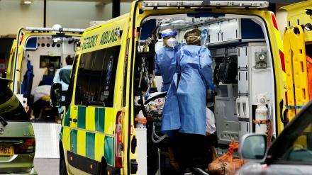 برطانیہ میں کورونا مریضوں کی اموات میں اضافہ
