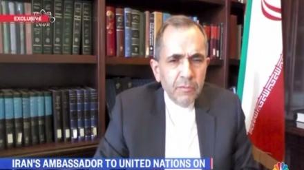 ایران کا امریکا کو انتباه