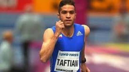 İranlı atlet Fransada qapalı atletizm yarışlarında çempion olub