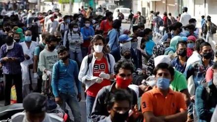 ہندوستان میں کورونا انفیکشن میں شدت، فعال کیسز میں اضافہ