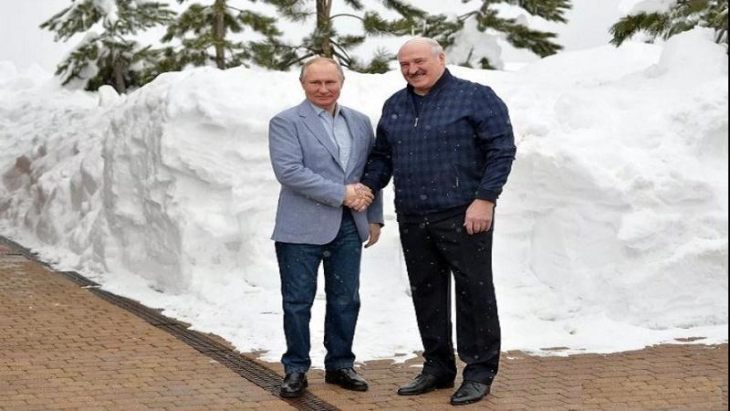 Putinlə Lukaşenkonun Soçidəki görüşü altı saatdan çox davam edib