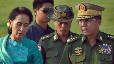 هەواڵێک لە ئانگ سان سوچی نیە ، ناڕەزایەتیەکانی میانمار هەروا درێژەی هەیە