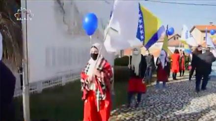 Defile slobode povodom 1. marta - Dana nezavisnosti Bosne i Hercegovine