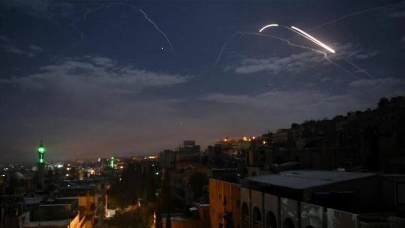 شامی فوج نے اسرائیل کے فضائی حملے کو ناکام بنادیا