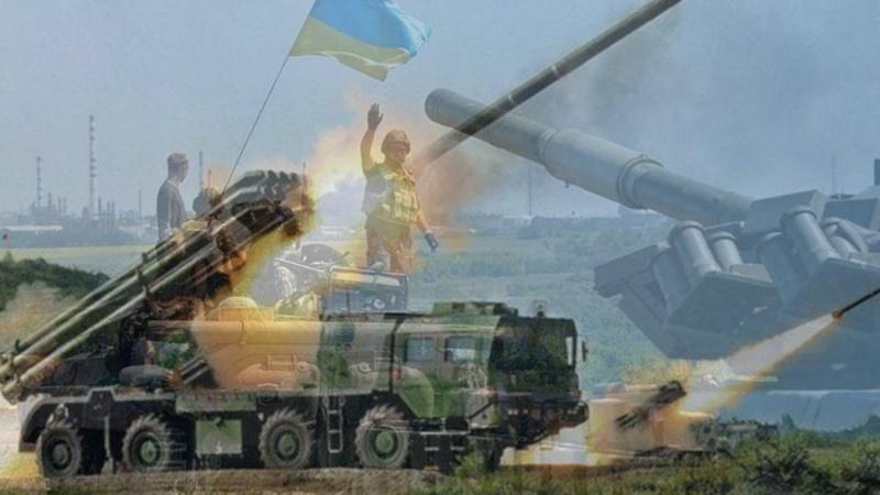 Ukrayna Donetskə zərbələr endirir