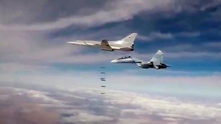 Rusiyanın Suriyadakı terrorçu mövqelərinə hava hücumu; 200 terrorçu öldürüldü