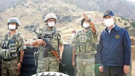 Türkiyə ordusunun İraqın şimalına qarşı qanunsuz hücumları davam edir