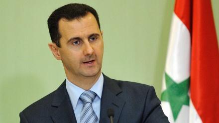 دہشتگردی اور انتہا پسندی، یورپ کی غلط پالیسیوں کا ساخسانہ ہے: شامی صدر
