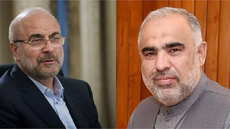 فلسطین کے مسلے پر پاکستان اور ایران کے درمیان صلاح و مشورہ