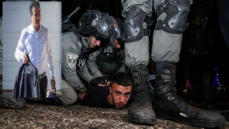 فلسطینیوں کا قاتل بحرین کے دورے پر