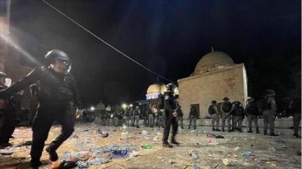 Əl-Əqsa məscidində fələstinlilərə qarşı amansızlıq: 178 yaralı var