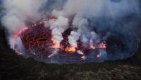 Konqoda vulkan püskürməsi