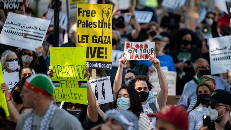 SAD, demonstracije u znak podrške potlačenom palestinskom narodu