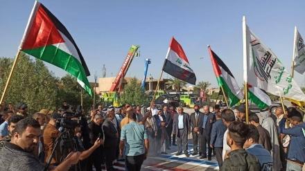 İraq şəhərlərində Qüds günü yürüşləri keçirilib