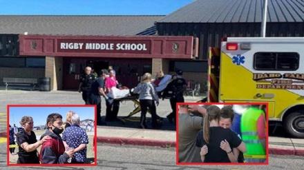 امریکہ کے ایک اسکول میں نوجوان لڑکی کی فائرنگ