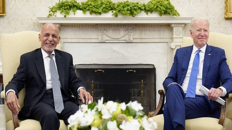 افغان صدر کی امریکہ سے امیدیں برقرار!