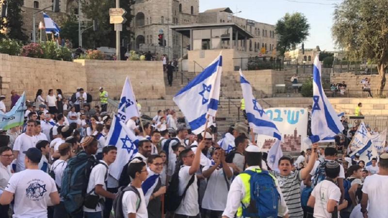 Ultra-ifratçı sionistlər Qüdsdə provokasiya ilə məşğuldurlar