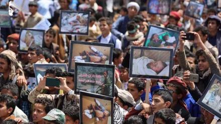 Jemenci se okupili u znak podrške Ansarullahu i osude UN-ove crne liste