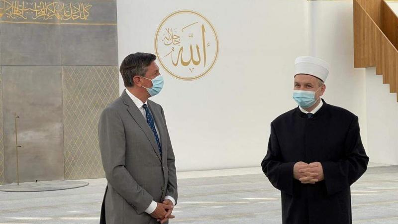Predsjednik Slovenije posjetio Muslimanski kulturni centar u Ljubljani