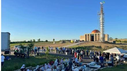 Složni Bošnjaci završili izgradnju prve munare u Iowi