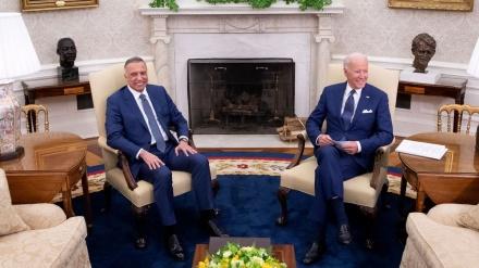 امریکہ نے عراق میں باقی رہنے کے لئے لفظوں سے کھیلنا شروع کر دیا/ جوبایڈن: سال کے آخر تک اپنا