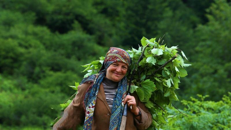 Ljepote Irana: uzvisine Masala