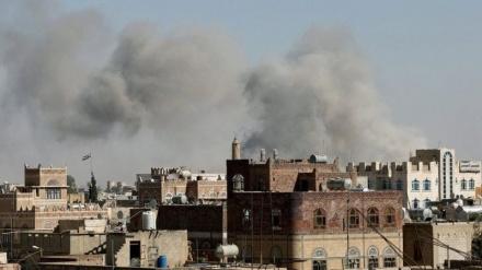 یمن کے مختلف رہائشی علاقوں پر سعودی اتحاد کی بمباری