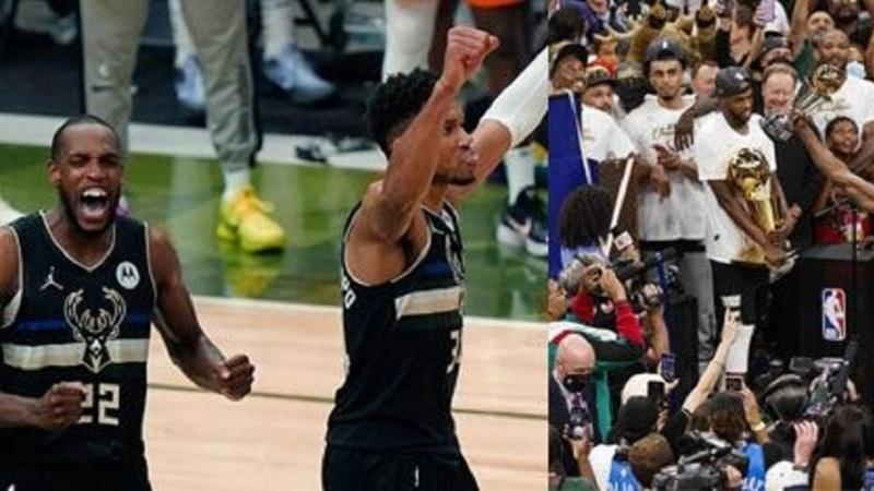 Di Lîga Basketbolê ya Amerîkayê (NBA) de; Tîma Milwaukee Bucks piştî 50 salan yekem car bû qehreman