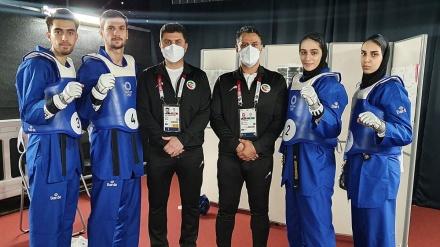 İranın milli taekvondo komandası Tokio Olimpiya oyunlarında finala yüksəlib