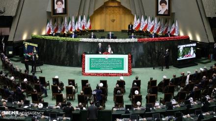 İranda prezidentin andiçmə mərasimi keçirilir