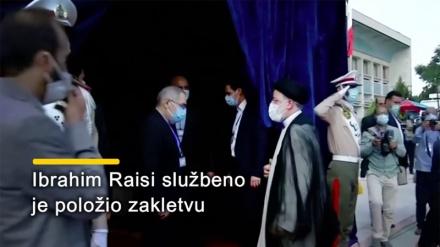 Raisi je položio zakletvu kao novi predsjednik Irana