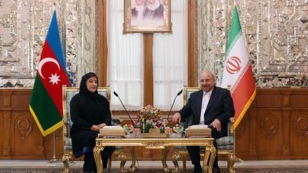 İran və Azərbaycanın parlament sədrləri görüşüblər