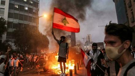 Libanezët protestojnë në përvjetorin e shpërthimit të Bejrutit