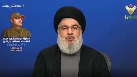 حزب الله کے سربراه کا لبنان  کے حالات پربیان