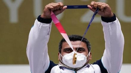 جواد فروغی کے گولڈ میڈل پر سوال اٹھانے والے کوریَن کھلاڑی کے بیان پر ایران کا رد عمل