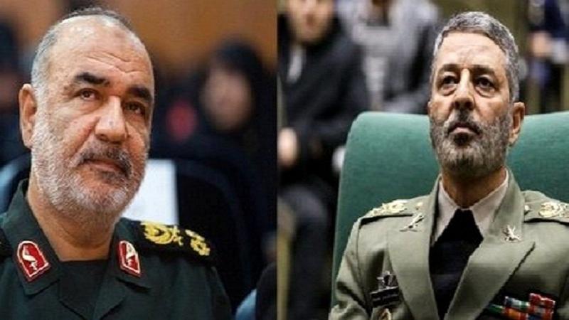 ایرانی کمانڈروں کا دشمن کو انتباہ، ہوش کے ناخن لو، ورنہ پچھتاؤ گے!