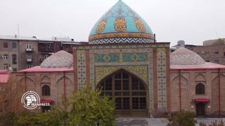 Plava džamija; simbol iranske umjetnosti i arhitekture u Armeniji