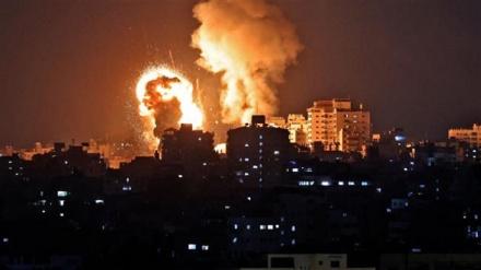 Od izraelskih zračnih napada zatresla se čitava Gaza