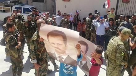 شام میں ہزار سے زیادہ مسلح افراد نے ہتھیار ڈال دیئے