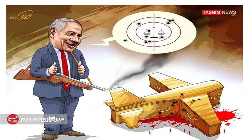 نتن یاہو کے خلاف گواہی دینے والے کی مشکوک موت+ کارٹون