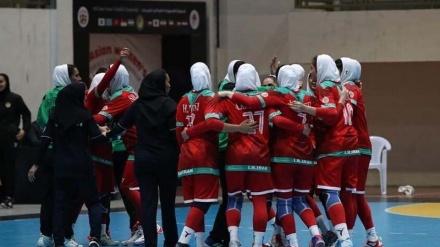 İranlı qadın həndbolçular Asiyada dördüncü olublar