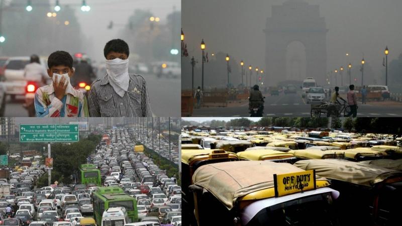 ٹریفک جام اور ماحولیاتی آلودگی نئی دہلی کا سب سے بڑا مسئلہ