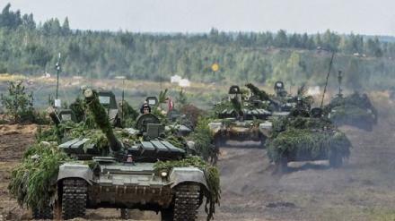 Rusiya və Belarus orduları birgə təlim keçirilr
