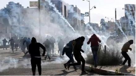 Sionistlərin Nablus şəhərinə basqını zamanı 23 fələstinli yaralanıb